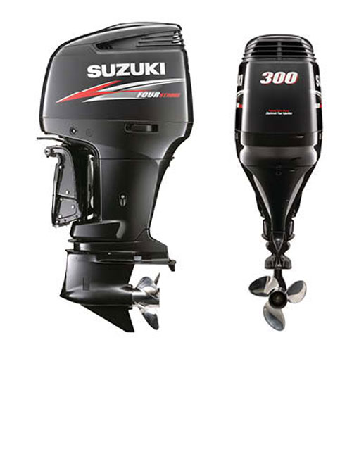 Large Outboard Motors Part I The Suzuki Df300ap Boat