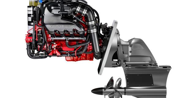 Volvo Penta forward drive boat propeller