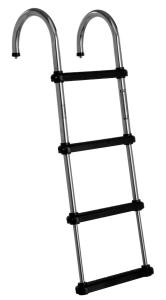 Windline 4 Step Telescoping<br> Pontoon Boat Ladder
