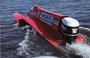 Performance Boat Propellers power the Fastest Outboard Engine Boat