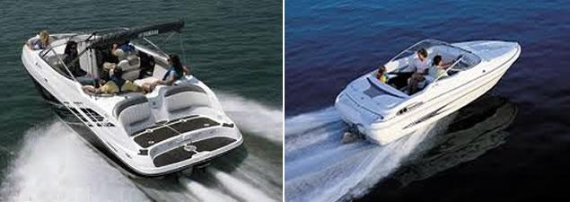 Jet Drive Boats vs. Sterndrive propeller boats