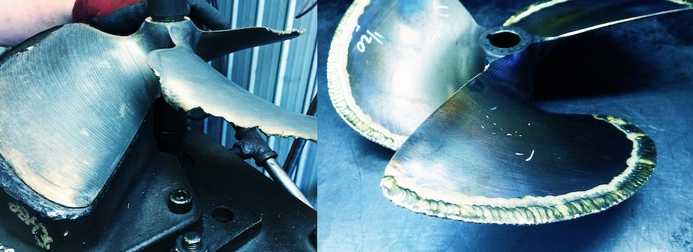 boat prop repair service
