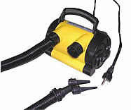 Air pumps for Towables Tow Ropes and Safety boat vests